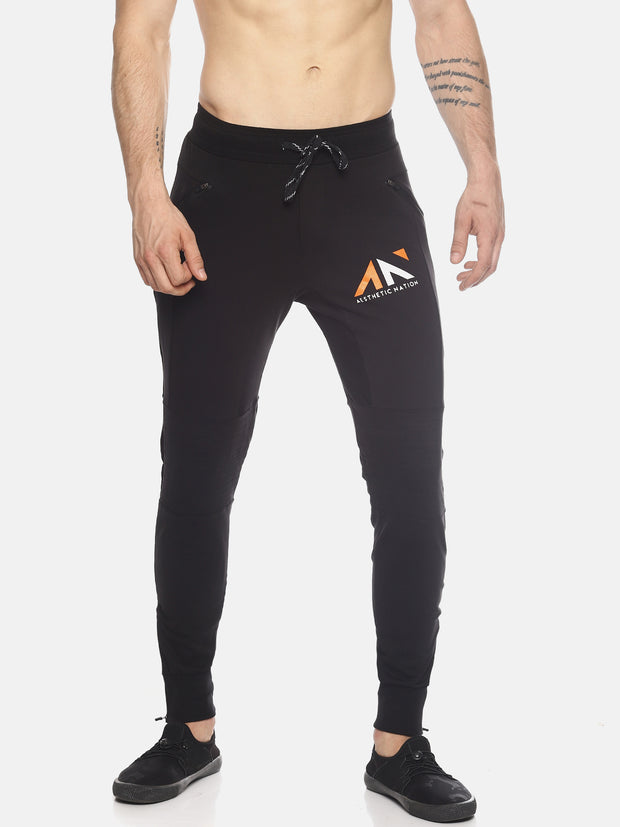 Black Gym Lifestyle Workout Joggers Lower