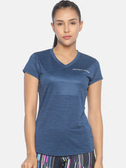 ESSENTIAL VNECK TOP - NAVY Women's - AestheticNation