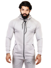 PERFORMANCE - TRAINING HOODIE GREY Hoodies - AestheticNation