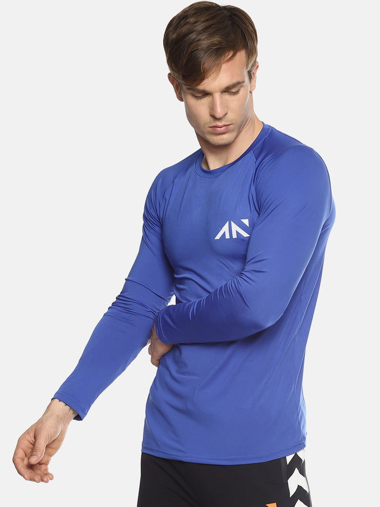 MOVEMENT QUICK DRY BLUE TSHIRT Men's - AestheticNation