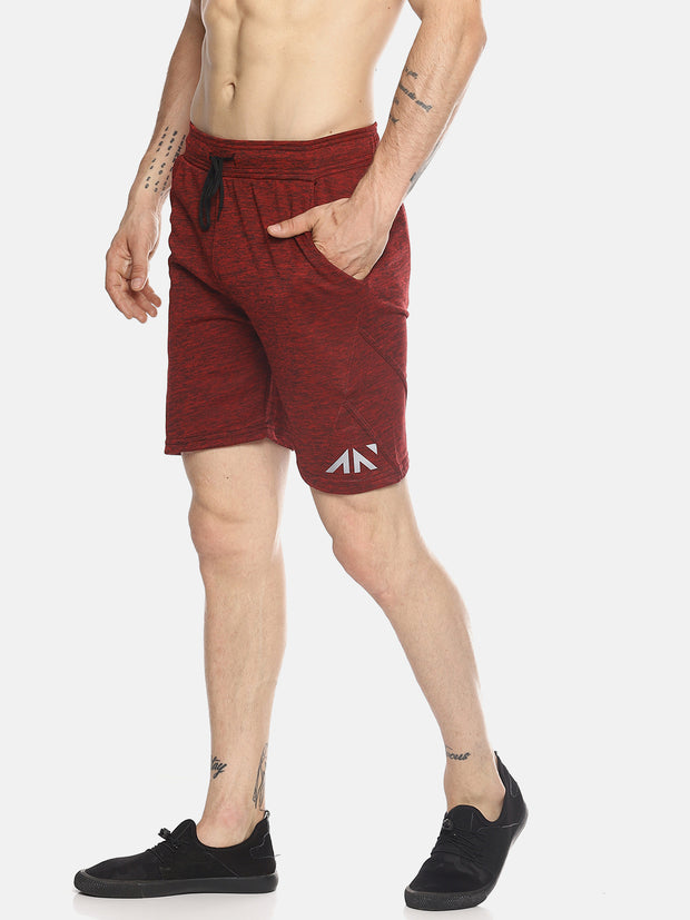 QUICKDRY PERFORMANCE RED SHORTS