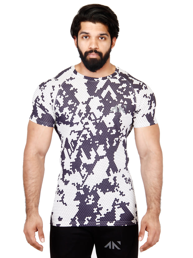 COOLDRY - ARCTIC WHITE TSHIRT Men's - AestheticNation