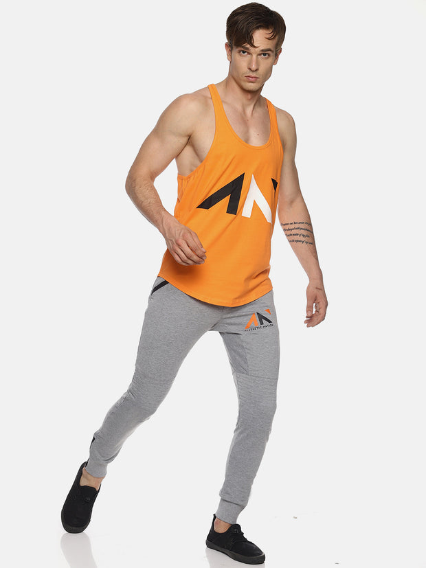 UNLEASH AESTHETICS ORANGE STRINGER