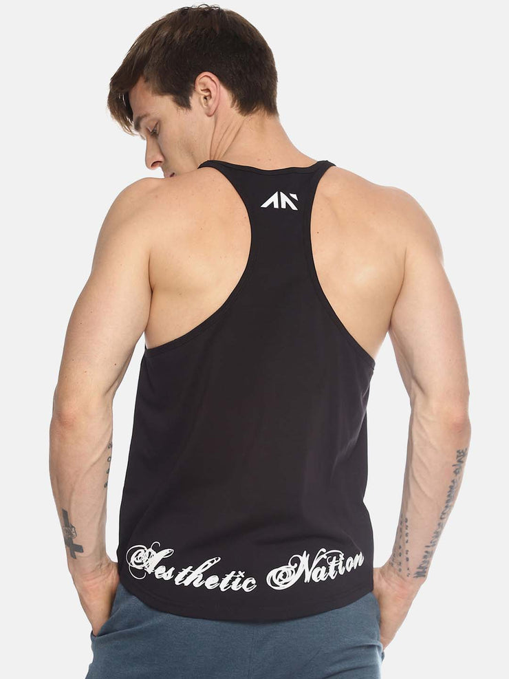 F*CK EXCUSES STRINGER Singlets - AestheticNation