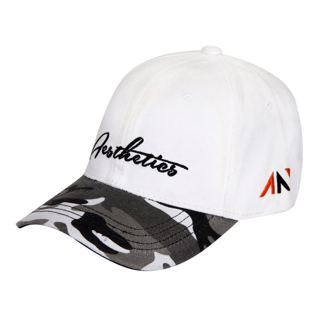 BASEBALL CAP - WHITE ARMY Cap - AestheticNation