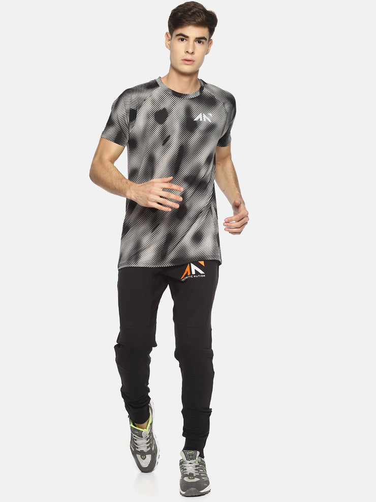 COOLDRY - STRIPED CAMO TSHIRT - AestheticNation