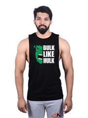 DEEPCUT BULK LIKE HULK Sleeveless Tees - AestheticNation