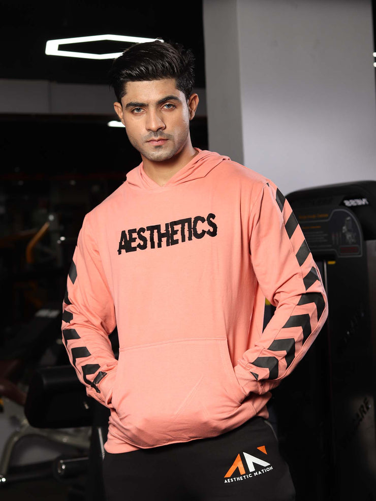MOVEMENT PULLOVER HOODIE PEACH Men's - AestheticNation