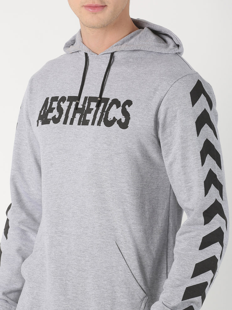 MOVEMENT PULLOVER HOODIE GREY Hoodie - AestheticNation