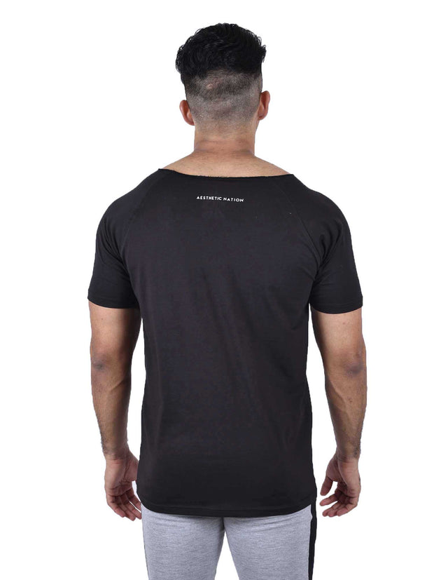 ORGANIC BAMBOO TEE - BLACK Men's - AestheticNation