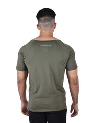 ORGANIC BAMBOO TEE - OLIVE Men's - AestheticNation