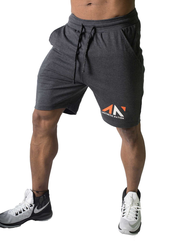 ACTIVE SHORTS CHARCOAL Men's - AestheticNation
