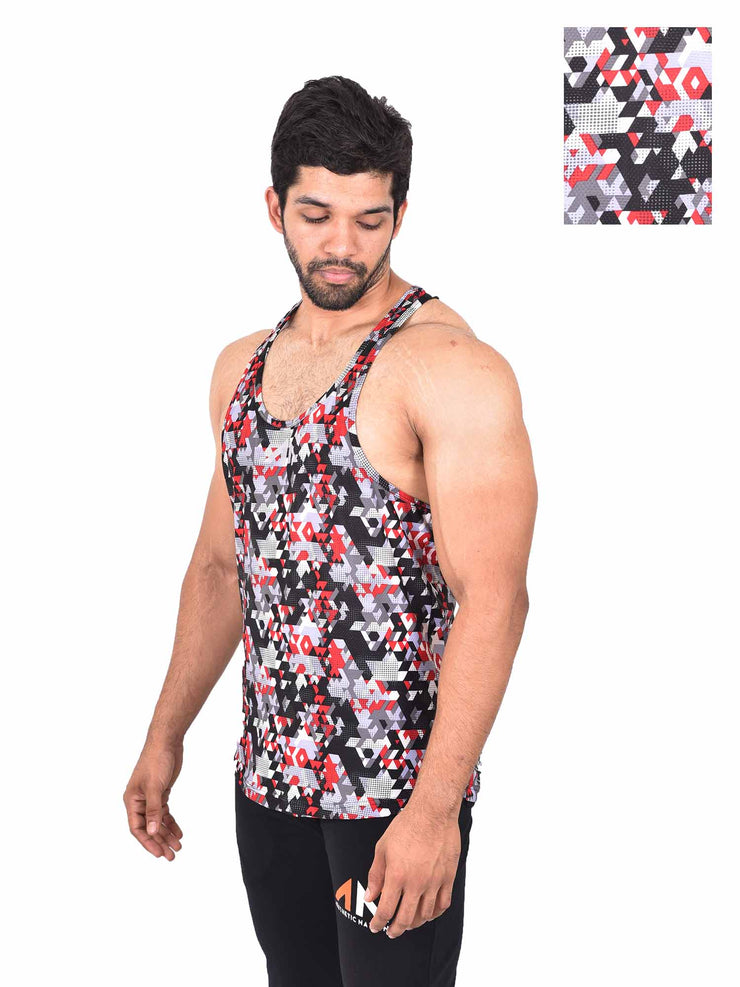 COOLDRY - ABSTRACT STRINGER Men's - AestheticNation