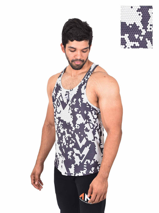 COOLDRY - ARCTIC WHITE STRINGER Men's - AestheticNation