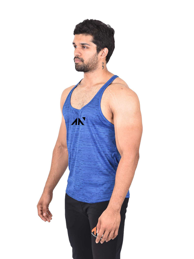 COOLDRY - ESSENTIAL BLUE STRINGER Men's - AestheticNation