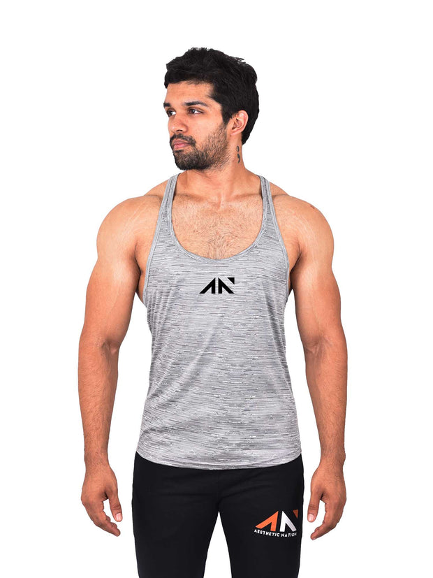 COOLDRY - ESSENTIAL GREY STRINGER Men's - AestheticNation