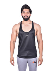COOLDRY - HEXA BLACK STRINGER Men's - AestheticNation