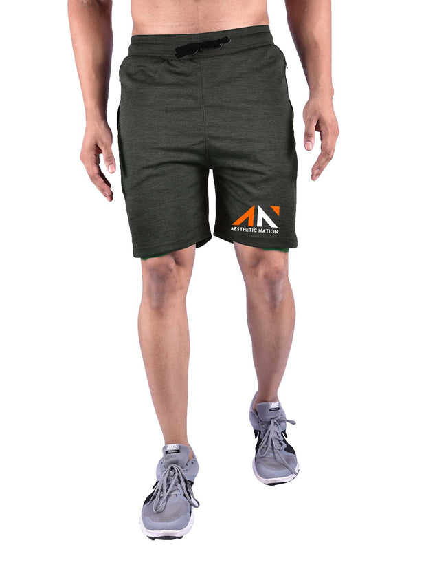 PERFORMANCE SHORTS KHAKI GREEN