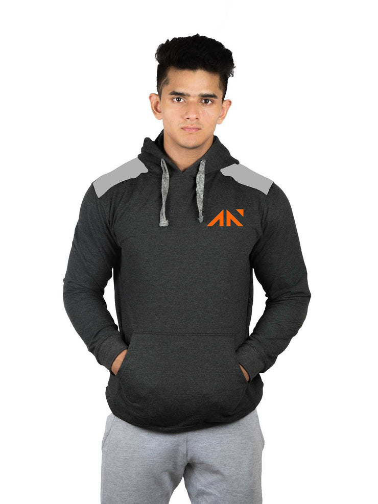 PULLOVER - STREET LIFESTYLE CHARCOAL Hoodies - AestheticNation