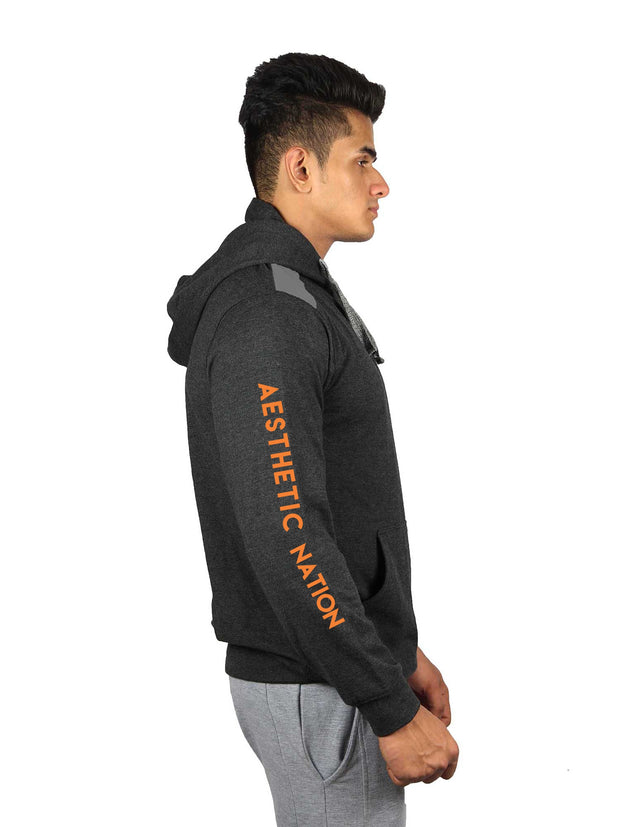 PULLOVER - STREET LIFESTYLE CHARCOAL