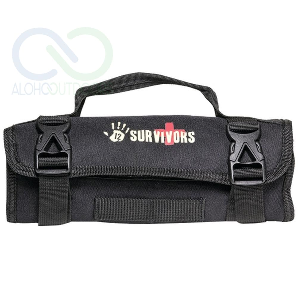 12 Survivors Ts42002B Mini First Aid Rollup Kit