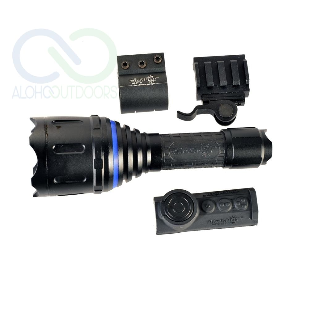 Aimshot Tz980-Wh Adjust. Beam Wireless Flashlight Kit