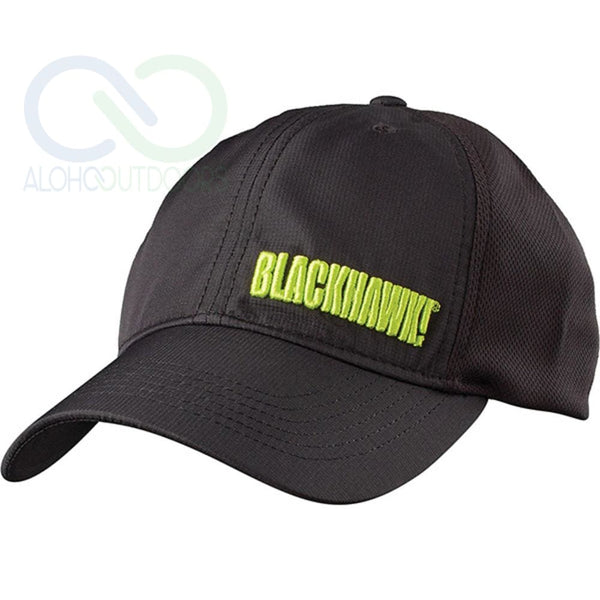 Blackhawk Performance Mesh Cap Black L/xl