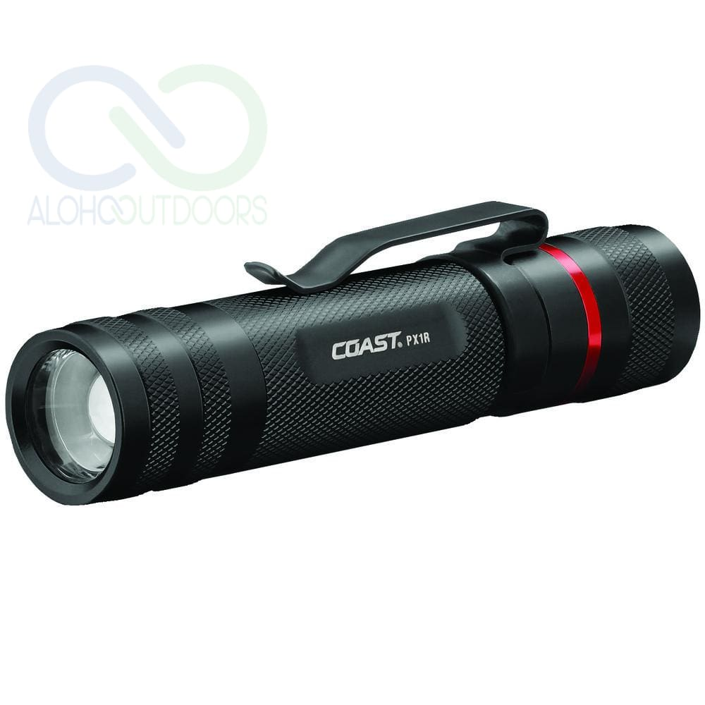 Coast 460-Lumen Rechargeable Px1R Pure Beam Focusing Flashlight Coapx1R