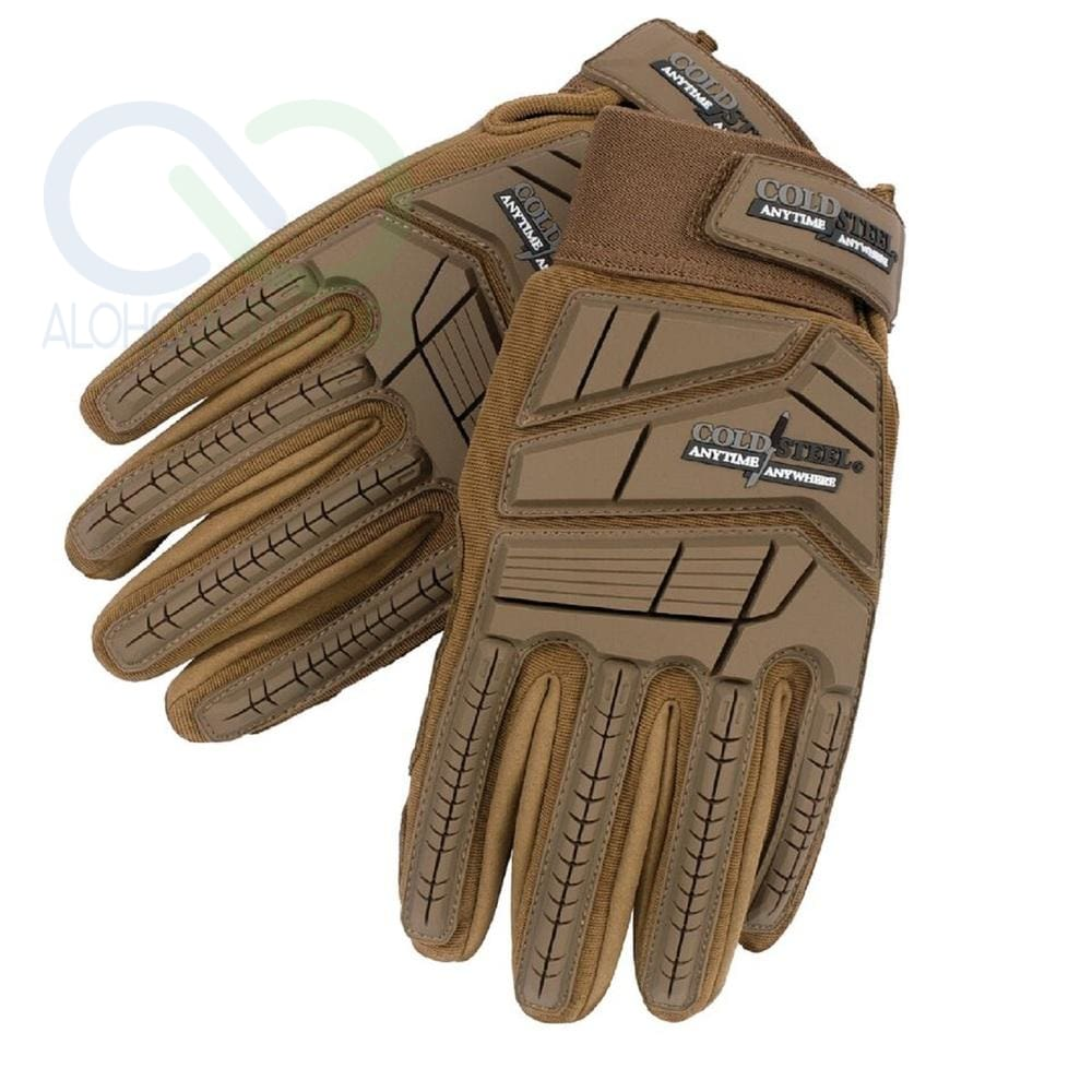 Cold Steel Tactical Glove - Coyote Tan Large