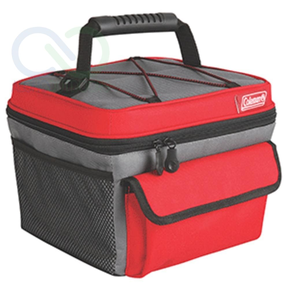 Coleman 10 Can Rugged Lunch Box - Red