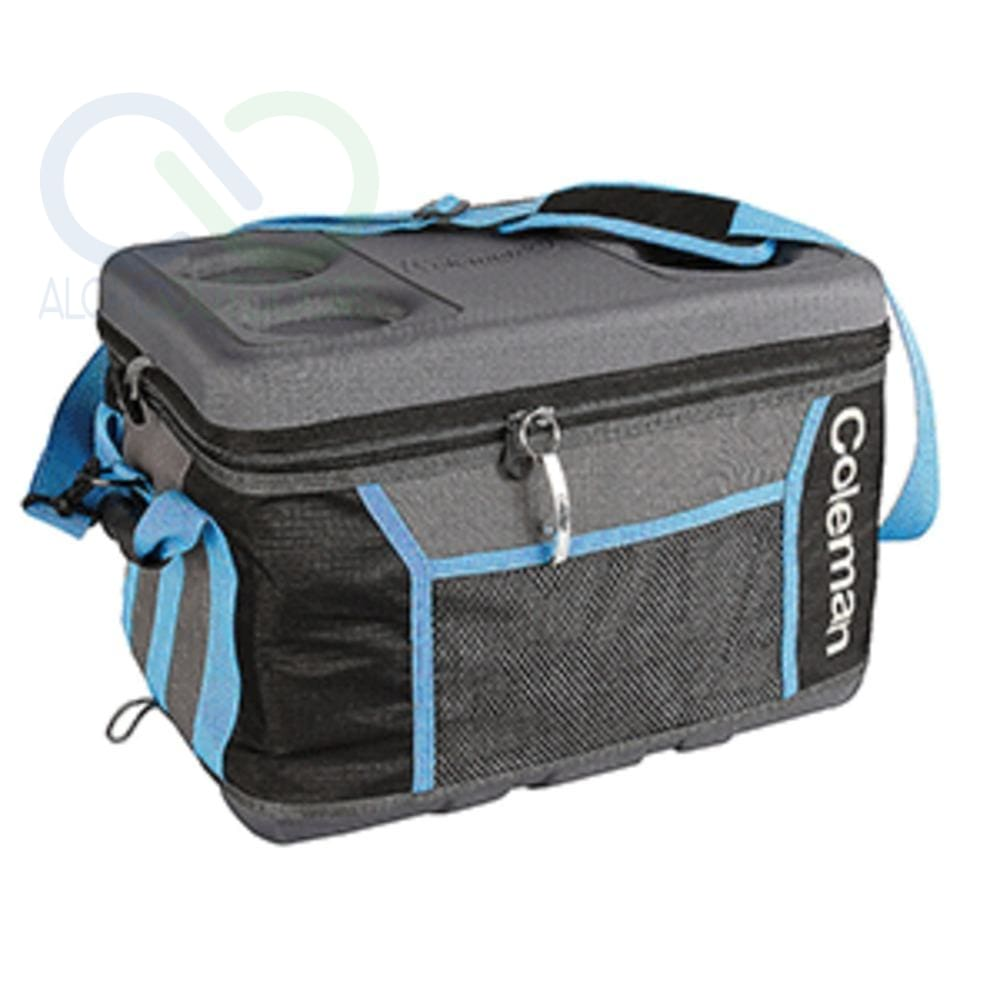 Coleman 75 Can Collapsible Sport Cooler - Gray/blue