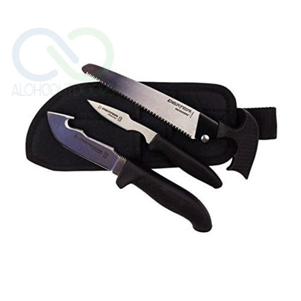 Dexter-Russell 3 Piece Big Game Combo W/ Sheath