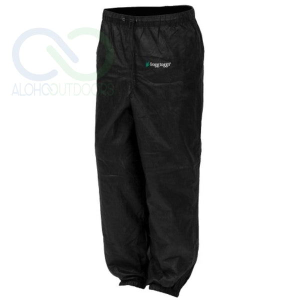 Frogg Toggs Pro Action Pant Ladies Black Xlarge Pa83522-01Xl