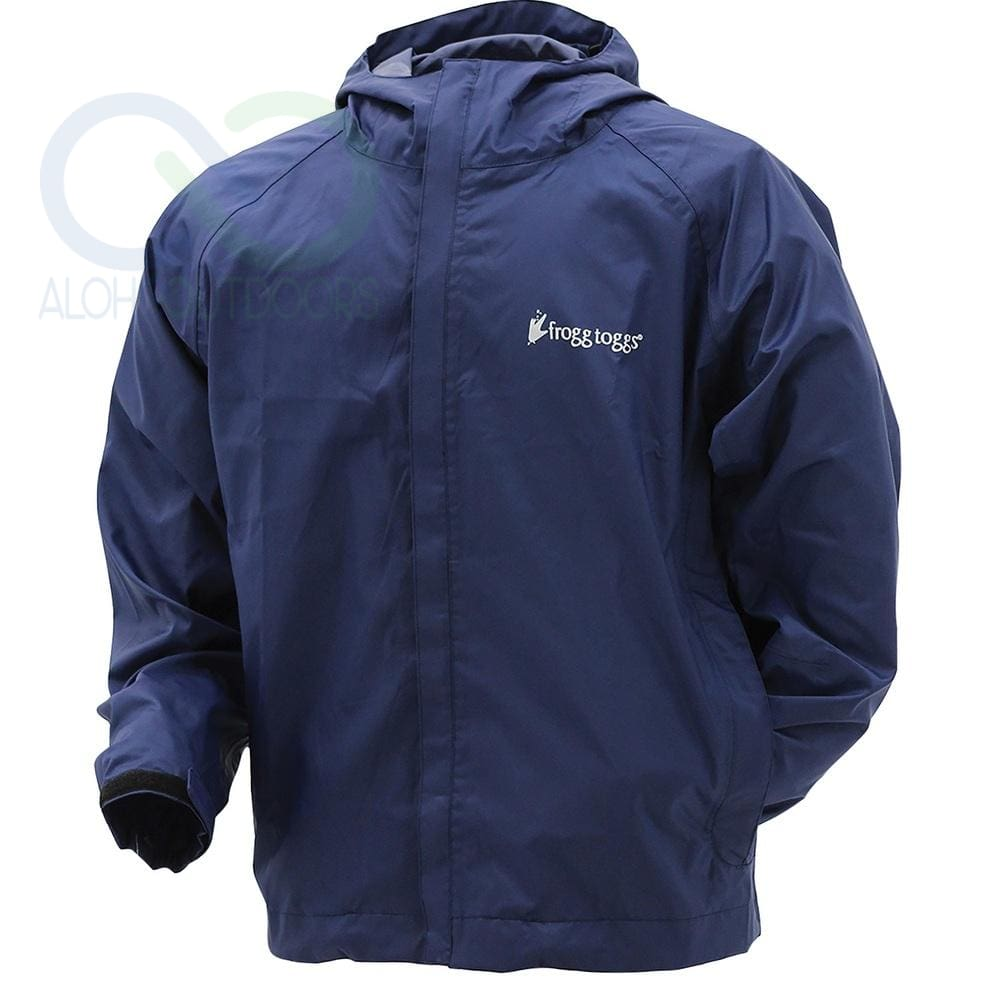 0be2dd84a Frogg Toggs StormWatch Jacket XL Blue