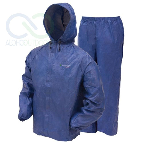 Frogg Toggs Ultra Lite Rain Suit Blue Medium Ul12104-12Md