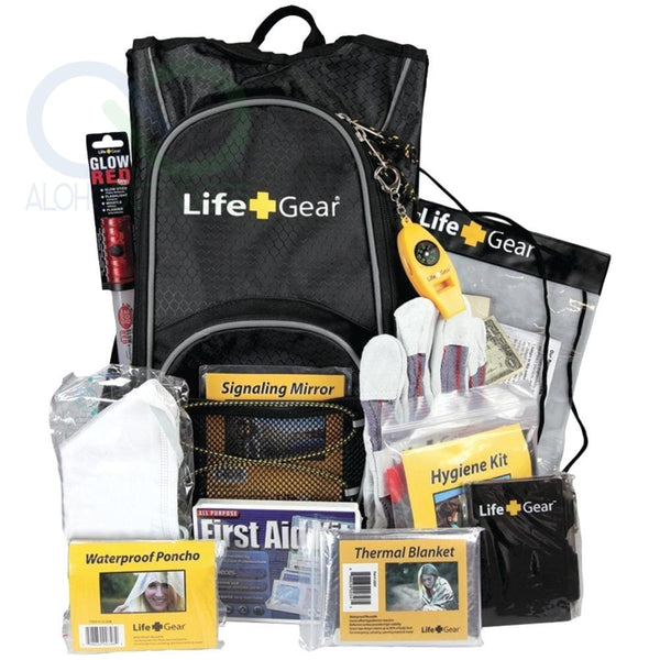 Life+Gear Day Pack Emergency Survival Backpack Kit Lg492