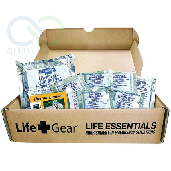 Life+Gear Life Essential 72-Hour Food & Water Kit Lg329