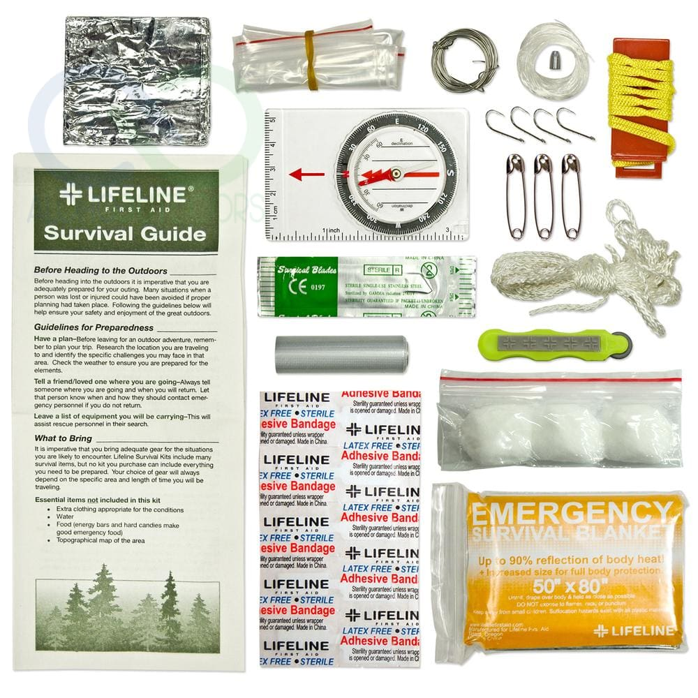 Lifeline Essential Ultralight Survival Kit 29 Pieces