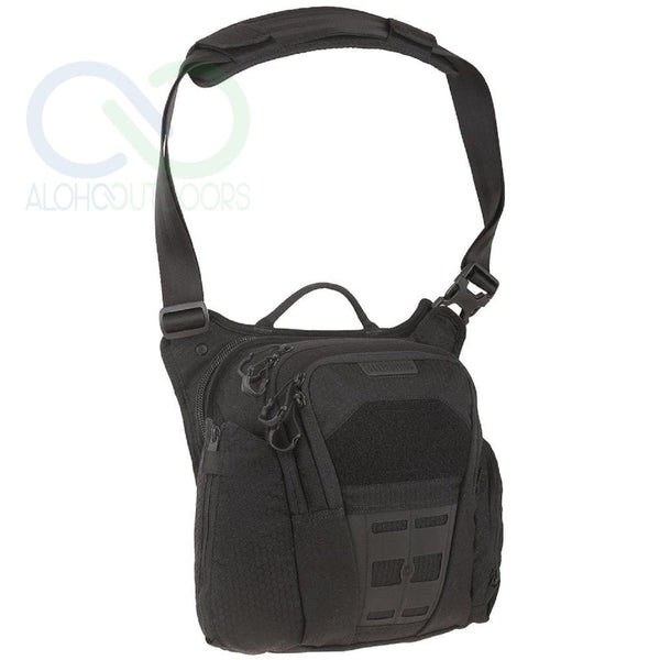 Maxpedition Veldspar Crossbody Shoulder Bag 8L Black