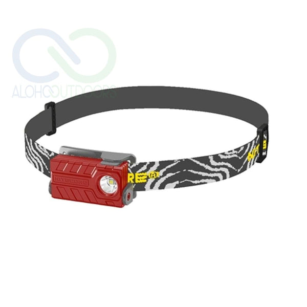 Nitecore Nu20 Usb Rechargeable Headlamp Red
