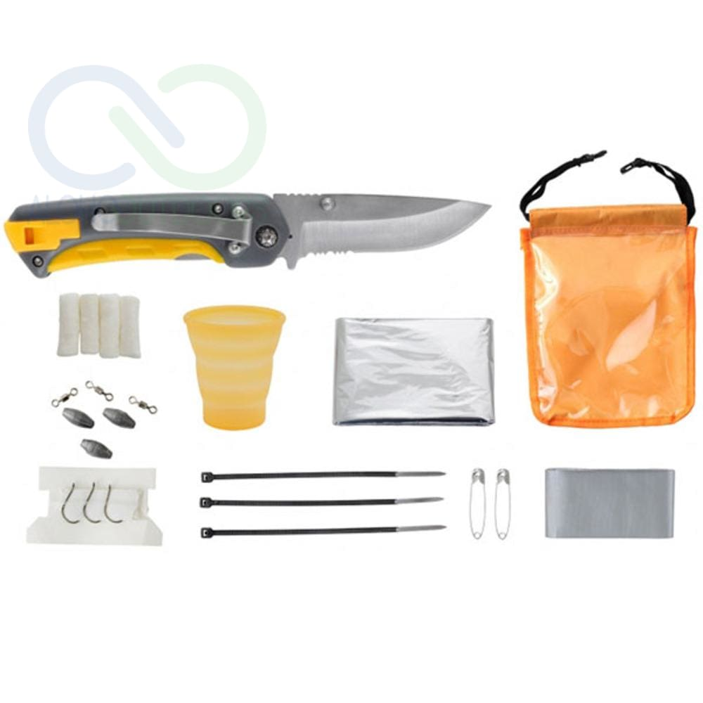 Smiths Pack Pal Folding Knife And Outdoor Essentials