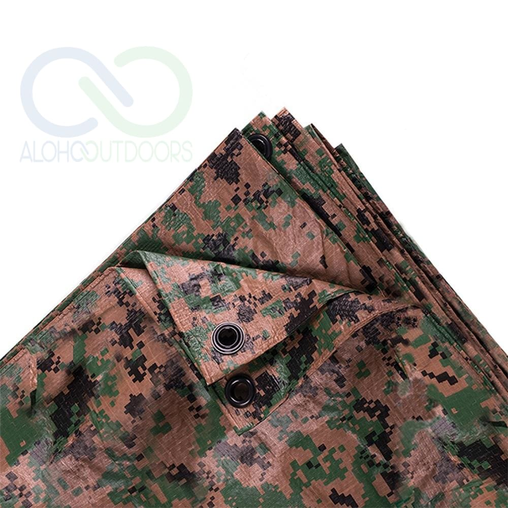 Stansport 12Ft X 16Ft Digital Camo Tarp - Woodland
