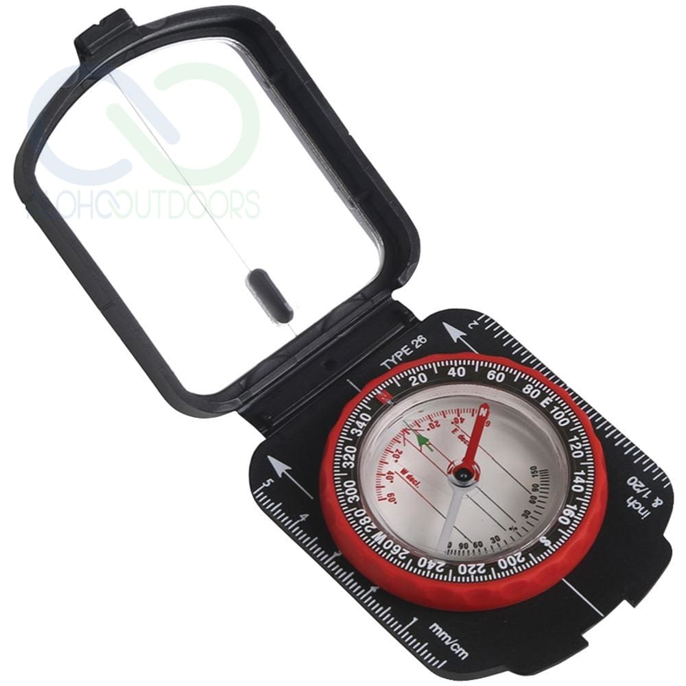 Stansport Multifunction Compass With Mirrored Cover Stn553