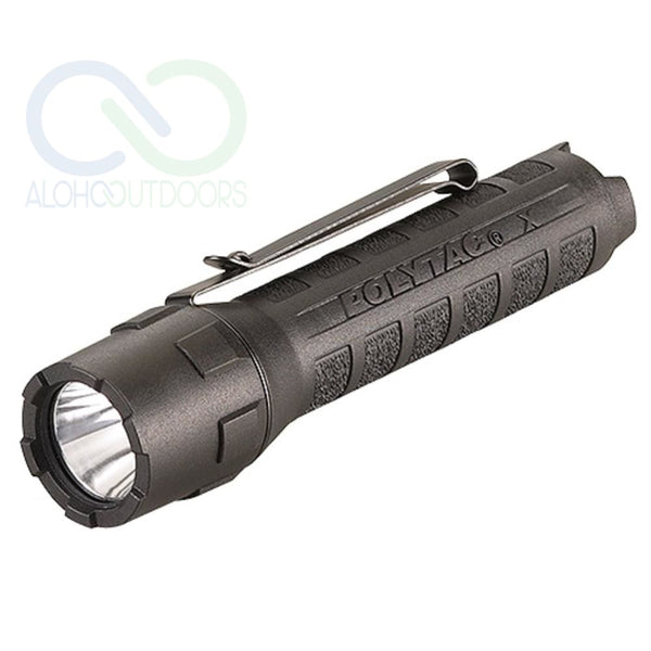 Streamlight Polytac X Usb Flashlight W/usb Battery Black
