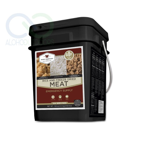 Wise Foods Gluten Free Protein Bucket 104 Servings