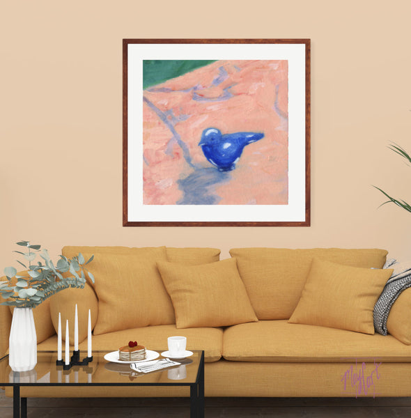 "bluebird-giclees-May Cart Print Art-24"" x 24"" in 30"" frame-"