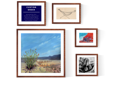 starter wall with option to personalize-giclees-May Cart Print Art-