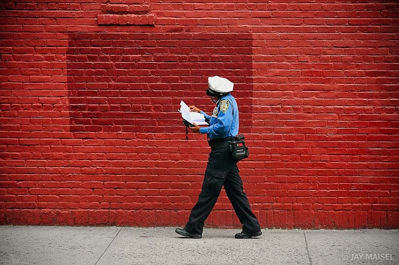 Red Wall and Cop
