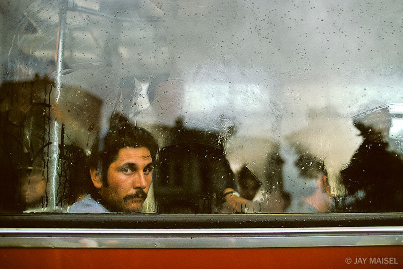 Man in Bus