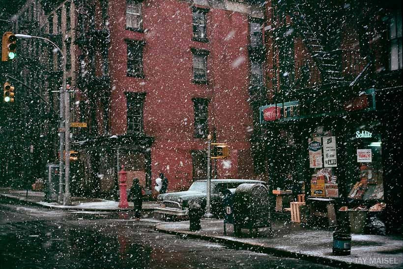 First Snow, Elizabeth Street